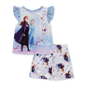 Disney Frozen II 2 Pcs Pajama Set Girl Toddlers 2T